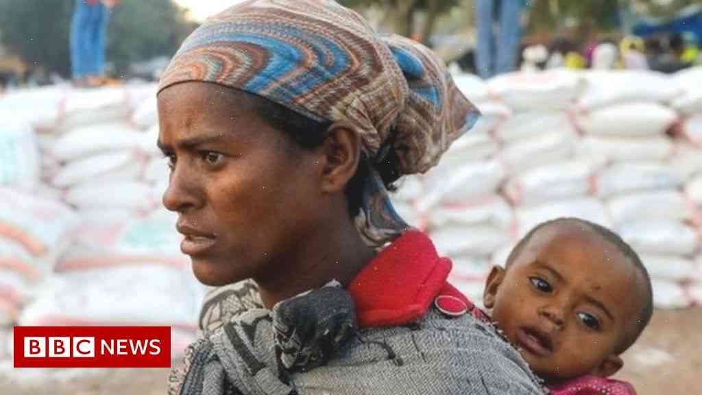 Over 170 trucks full of emergency aid convoy at border blockaded by Ethiopia